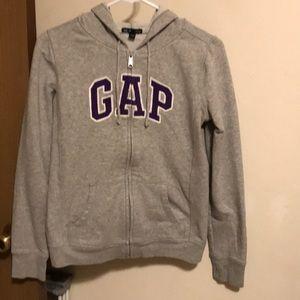 Gap Hoodie Gray/Purple